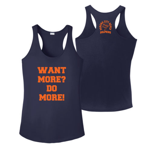 Want-More-Do-More-Tanks Apparel Made Custom T Shirts for Sports Teams